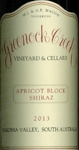 Greenock Creek Apricot Block Shiraz 2013 750ml, Barossa Valley
