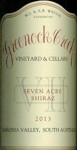 Greenock Creek Seven Acre Shiraz 2013 750ml, Barossa Valley