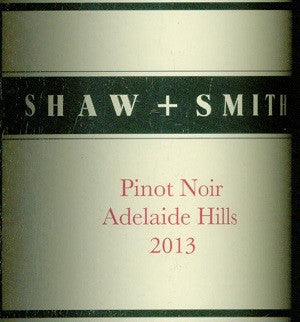 Shaw & Smith Estate Pinot Noir 2013 750ml, Adelaide Hills