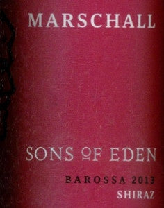Sons of Eden Marschall Shiraz 2013 750ml, Barossa Valley