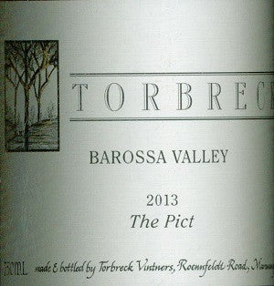 Torbreck The Pict Matero 2013 750ml, Barossa Valley