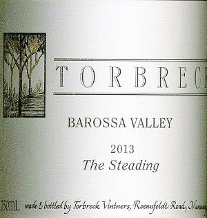 Torbreck The Steading Grenache Shiraz Mourvedre 2013 750ml, Barossa Valley