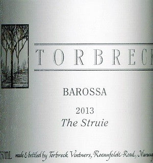 Torbreck The Struie Shiraz 2013 750ml, Barossa Valley