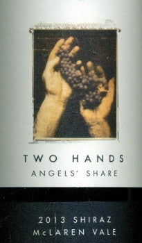 Two Hands Angels Share Shiraz 2013 750ml, McLaren Vale