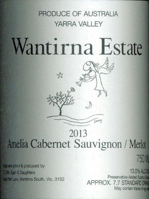 Wantirna Estate Amelia Cabernet Sauvignon Merlot 2013 750ml, Yarra Valley