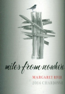 Miles from Nowhere Chardonnay 2014 750ml, Margaret River