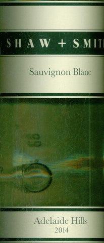 Shaw & Smith Estate Sauvignon Blanc 2014 750ml, Adelaide Hills