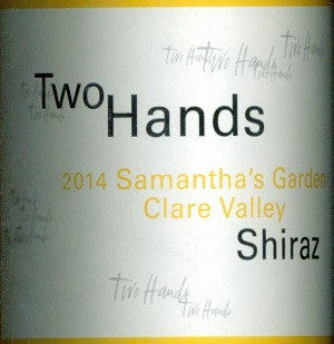Two Hands Samantha's Garden Shiraz 2014 750ml, Clare Valley
