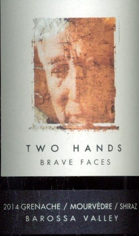 Two Hands Brave Faces Grenache Mourvedre Shiraz 2014 750ml, Barossa Valley