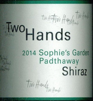Two Hands Sophie's Garden Shiraz 2014 750ml, Padthaway