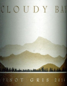 Cloudy Bay Pinot Gris 2014 750ml, Marlborough