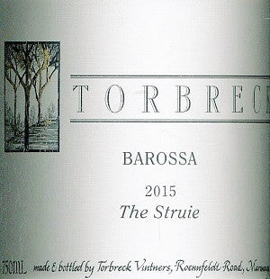 Torbreck The Struie Shiraz 2015 750ml, Barossa Valley