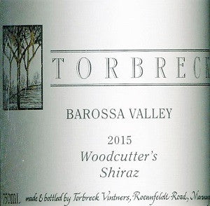 Torbreck Woodcutter's Shiraz 2015 750ml, Barossa Valley