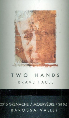 Two Hands Brave Faces Grenache Mourvedre Shiraz 2015 750ml, Barossa Valley
