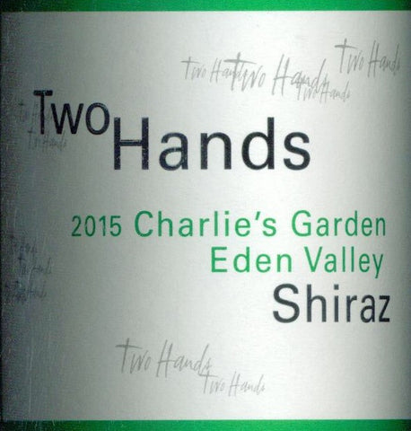 Two Hands Charlies Garden Shiraz 2015 750ml, Eden Valley