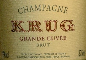 Krug Grand Cuvee NV 375ml, Champagne