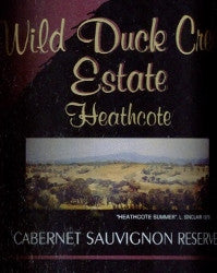 Wild Duck Creek Estate Reserve Cabernet Sauvignon 2005 1.5L, Heathcote