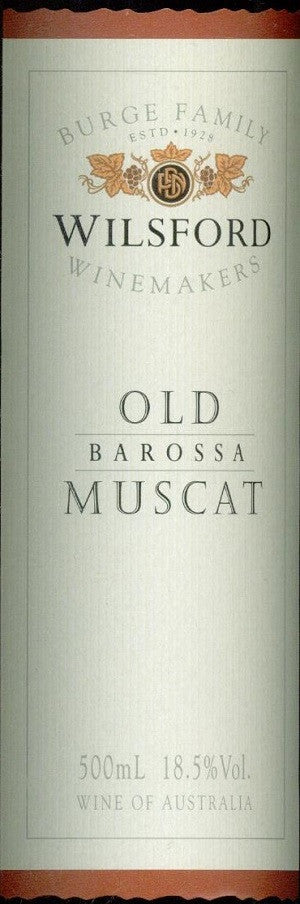 Wilsford Old Muscat NV 500ml,