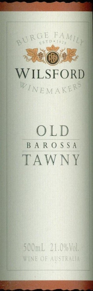 Wilsford Old Tawny NV 500ml,