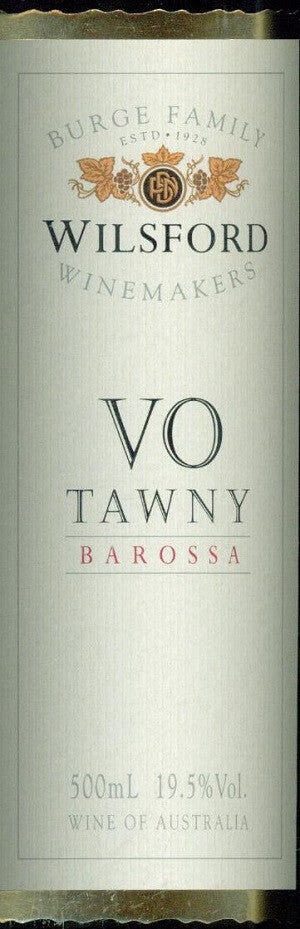 Wilsford VO Tawny NV 500ml,