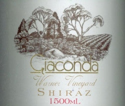 Giaconda Shiraz 2004 1.5L, Beechworth