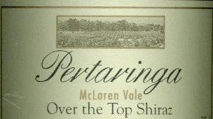 Pertaringa Over The Top Shiraz 2002 1.5L, McLaren Vale