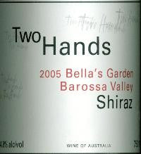 Two Hands Bella's Garden Shiraz 2005 Double Magnum 3L, Barossa Valley