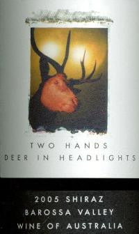 Two Hands Deer in Headlights Shiraz 2005 Imperial 6L, Barossa Valley