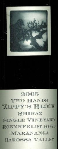 Two Hands Zippy's Block Shiraz 2005 Imperial 6L, Barossa Valley