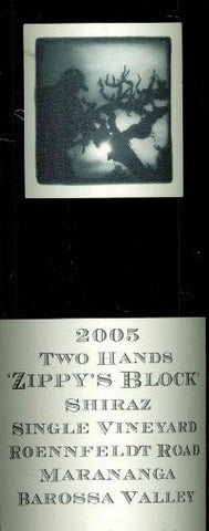 Two Hands Zippy's Block Shiraz 2005 3L, Barossa Valley
