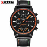 Relogio Masculino Luxury Leather Mens Watch