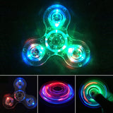 Crystal Clear LED Fidget Spinner