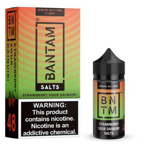 BANTAM SALTS | STRAWBERRY SOUR DAIQUIRI 30ML eLiquid