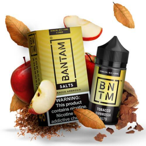 BANTAM SALTS | TOBACCO AMBROSIA 30ML eLiquid