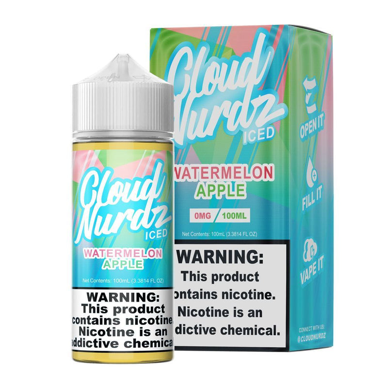Watermelon Apple Iced by Cloud Nurdz 100ml