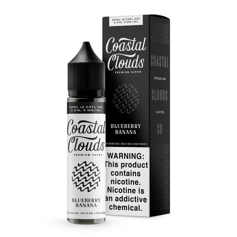 Blueberry Banana by Coastal Clouds 60ml