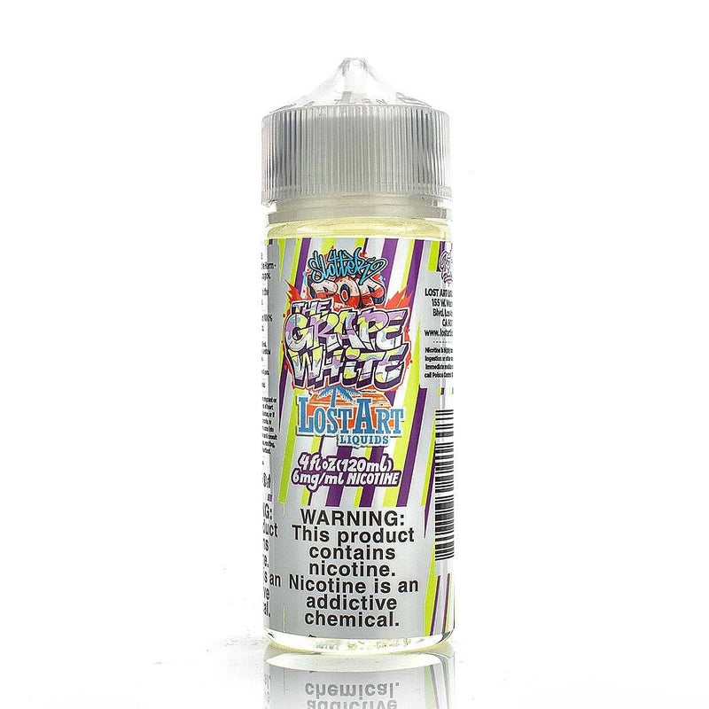 LOST ART LIQUIDS | The Grape White 120ML eLiquid