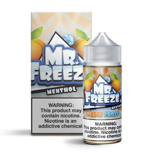 Peach Frost by Mr. Freeze Menthol 100ml
