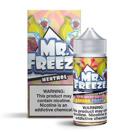 Strawberry Banana Frost by Mr. Freeze Menthol 100ml