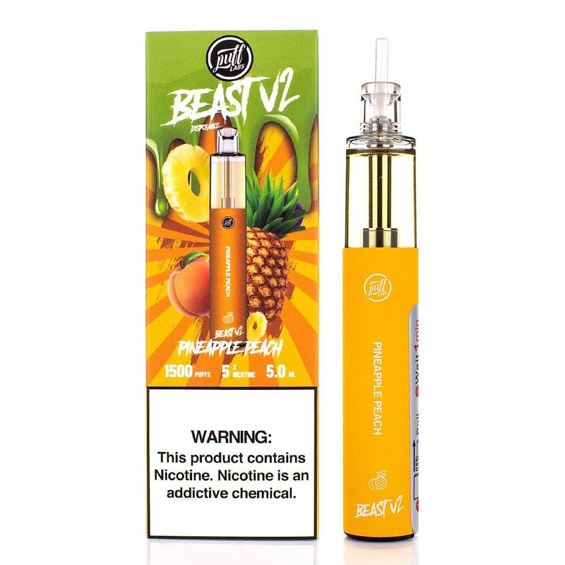 PUFF LABS | Puff Beast Bar V2 Disposable Device - 1500 Puff (Individual)
