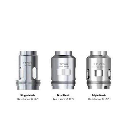SMOK TFV16 Tank Replacement Coils (Pack of 3)