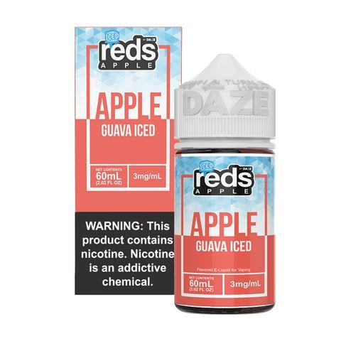 VAPE 7 DAZE | Reds Guava Iced 60ML eLiquid