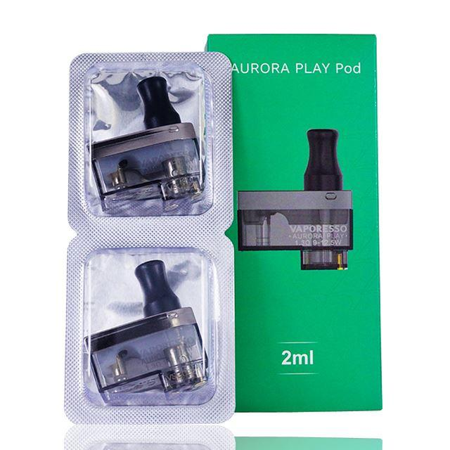 Vaporesso Aurora Play (Click) Replacement Pods (2-Pack)