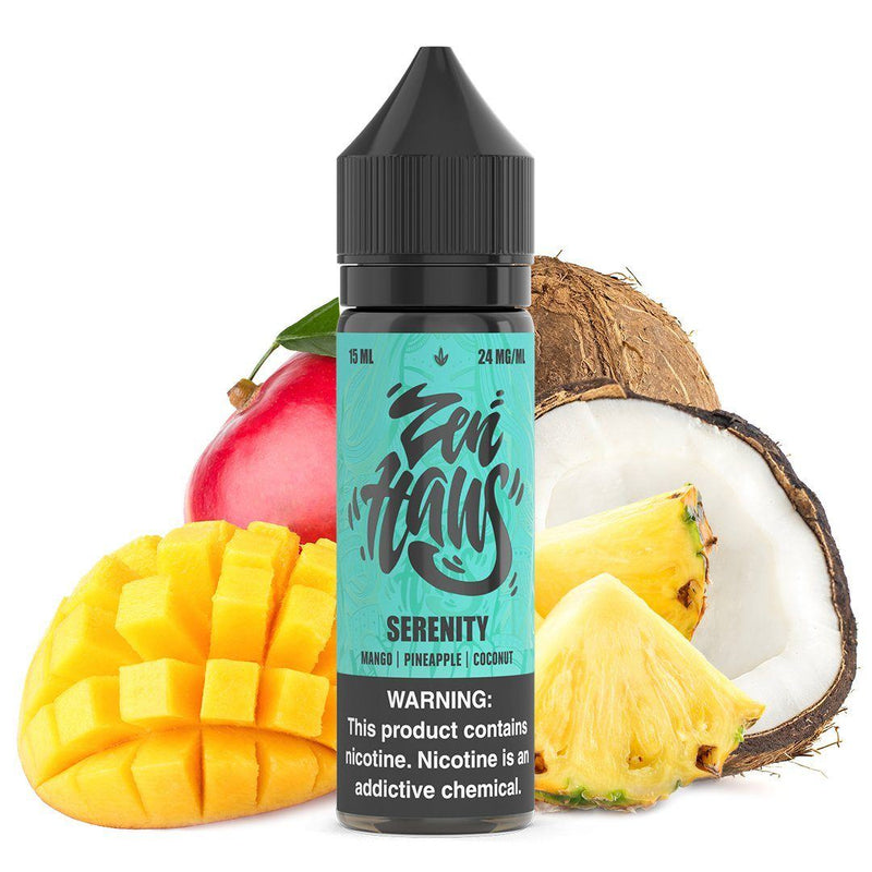 ZEN HAUS SALTS | Serenity 15ML eLiquid