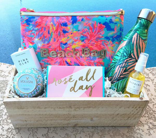 Palm Spring Inspired Best Friend Gift Box