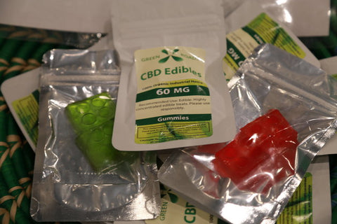CBD Gummy blocks