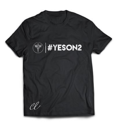 Yes on 2 Official T-Shirt (Male/Female)
