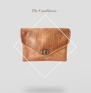 Leather Bag - The Casablanca