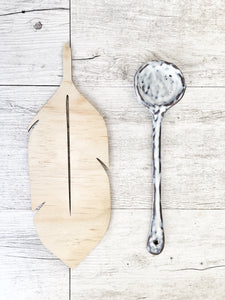 Ceramic Serving Spoon