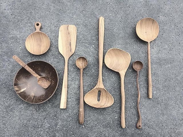 HK Living Timber Spoon